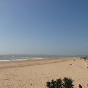 Las playas de Rota en la provincia de Cádiz