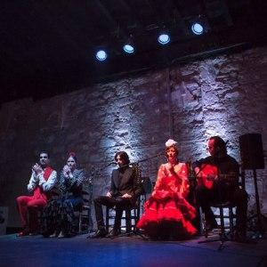 Tablao flamenco en Jerez de la Frontera