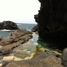 Piscina natural en la Isla de El Hierro