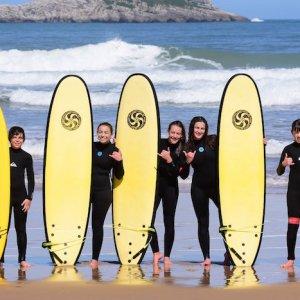 Cursos de surf en Somo en Cantabria