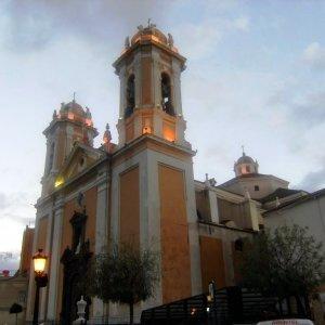 Fachada de la Catedral Nuestra Señora de la Asunción en Ceuta