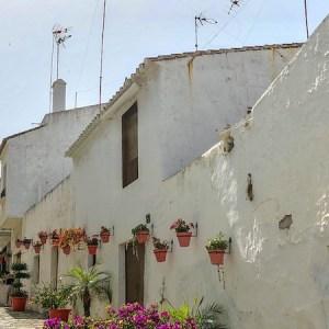 Las calles típicas de Estepona