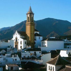 La iglesia de los Remedios en Estepona