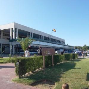 El aeropuerto de Jerez de la Frontera