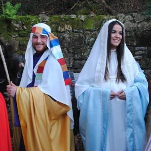 Cabalgata de  Reyes en Santillana del Mar