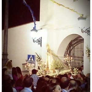 La Virgen de la Hermosa en Fuente de Cantos