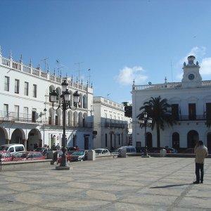 La Plaza Mayor de Llerena