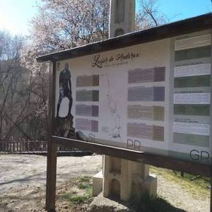 La senda de la hidroeléctrica en Laujar de Andarax