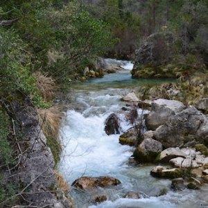El nacimiento del río  Guadalquivir en Cazorla