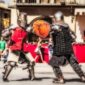 Fiestas medievales en Olite