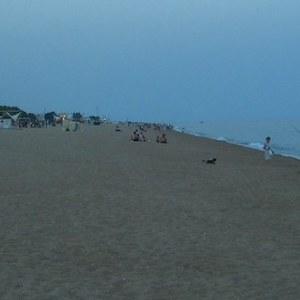 Playa Grande en Calella