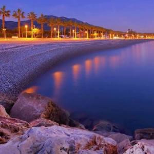 La playa de El Marjal en Alcanar en Tarragona