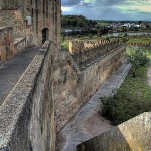 La alcazaba en Badajoz