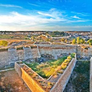 El fuerte de San Cristóbal en Badajoz