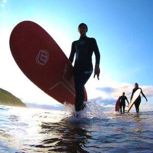 Clases de surf en Sopela
