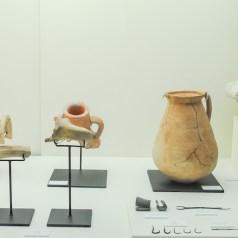 Vasijas del museo de arqueología de Estepona en la Costa del Sol