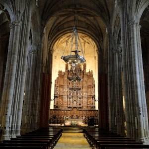 La concatedral de Santa María en Cáceres