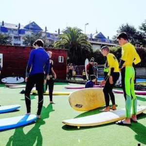 Campamento de surf en Laredo