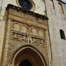 Fachada de la Iglesia de Nuestra Señora de la O en Sanlúcar de Barrameda