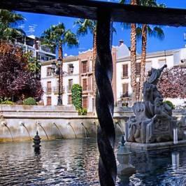 Imagen de una fuente en Priego de Córdoba en la provincia de Córdoba