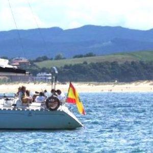 Santander en barco