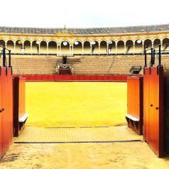 Entrada a las visitas guiadas a la plaza de toros de Sevilla