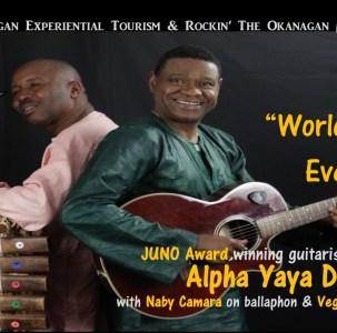 A World Music Event – Alpha Yaya Diallo Trio