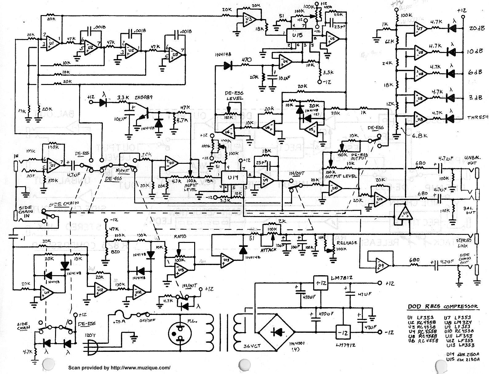 Index Of Diy Schematics Compressors Gates And Limiters