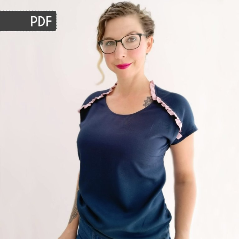 Lily Top Sewing Pattern: PDF Version