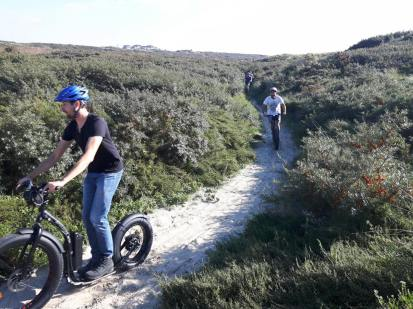 Fat Max door de duinen