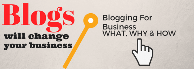 benefits of business blogging