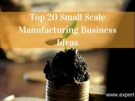 manufacturing business with low investment