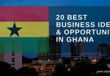 business ideas in Ghana