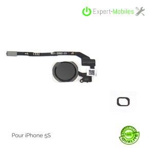 Bouton home complet NOIR pour iPhone 5S