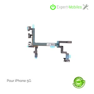 Nappe on-off volume mute pour iPhone 5G