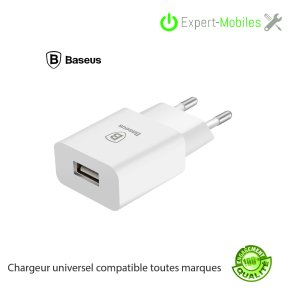 Chargeur mural Baseus 2.1 A universel