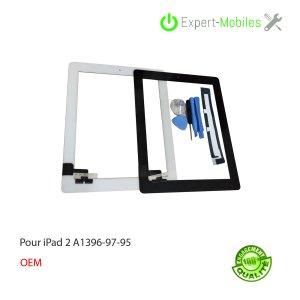 Vitre Tactile de remplacement pour iPads 2 A1395 A1396 A1397
