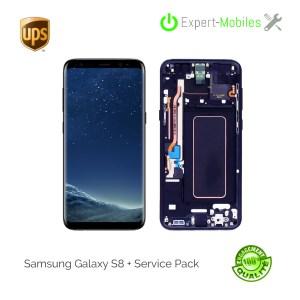 Ecran de remplacement pour Samsung Galaxy S8+ G955F service Pack