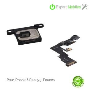 Combo module écouteur interne + nappe caméra frontale capteur de proximité iphone 6 Plus