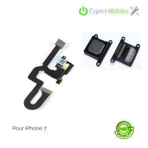 Combo nappe caméra frontale, capteur de proximité, micro d'ambiance + HP ÉCOUTEUR interne HAUT POUR Iphone 7
