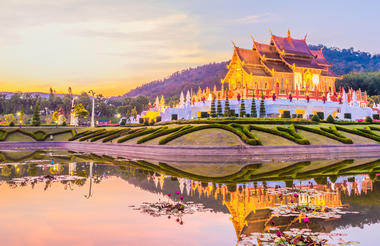 Ratchapruek Gardens - Chiang Mai Tour