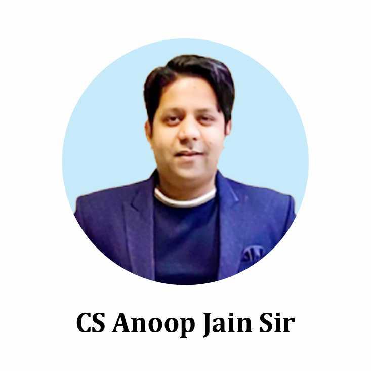 CS Anoop Jain Sir