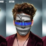 How to create Paint Graphics onto a Face in Photoshop