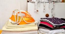 Dampfbügeleisen Wäsche bügeln