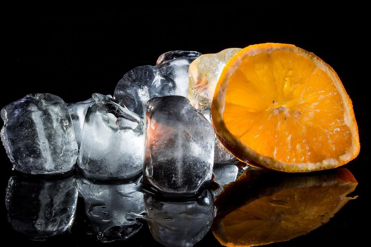 Perfekte Eiswürfel für einen leckeren Drink