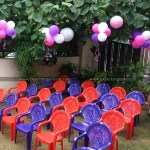 25 Kids Chairs on Rent for Birthday, Kids Parties