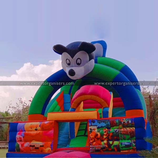 Kids Mickey Bouncy on Rent in Mohali, Chandigarh, Zirakpur,