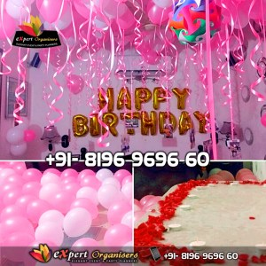 Surprise Room Decorations for girlfriend, boyfriend, wife or husband Chandigarh Mohali Panchkula
