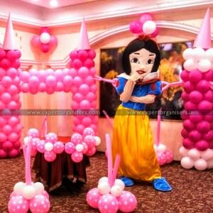 Snow White Cartoon Costumes on Rent in Chandigarh Mohali Panchkula
