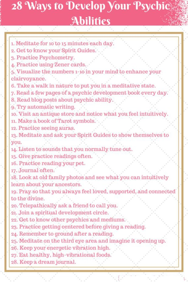 Ways To Improve Your Psychic Properties